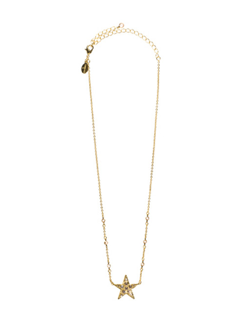 Sorrelli Andalusia- Shining Star Pendant Necklace~ NCL28BGAND