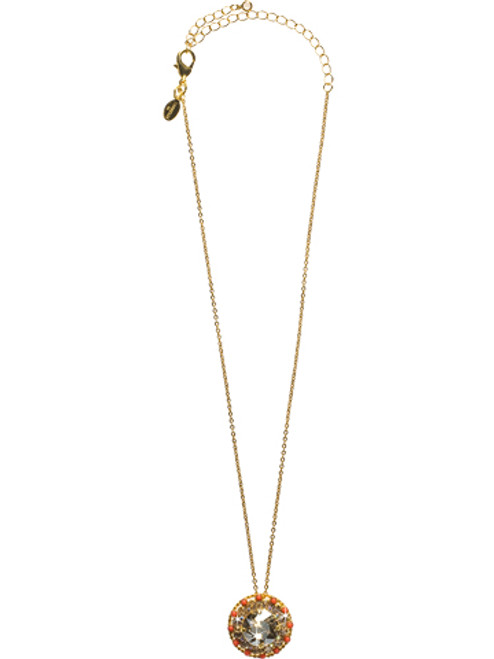 Sorrelli Andalusia- Stone-Studded Pendant Necklace~ NCL2BGAND