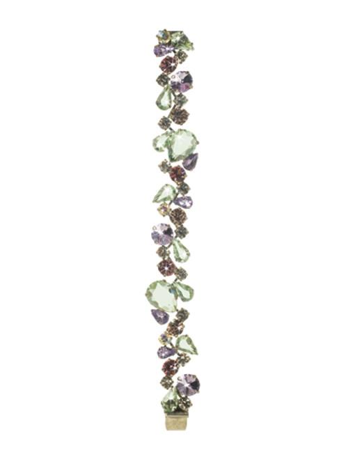 Sorrelli CUPCAKE-Teardrop Crystal Cluster Line Bracelet~ BCP3ASCUP