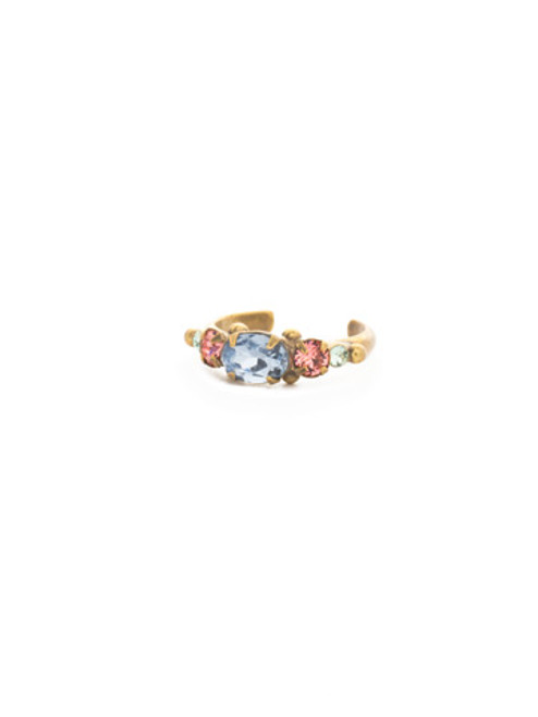 Sorrelli Bohemian Bright- Crystal Ring~ REA19AGBHB