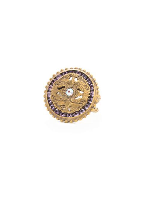 Sorrelli Bohemian Bright- Unique Crystal Ring~ REA11AGBHB