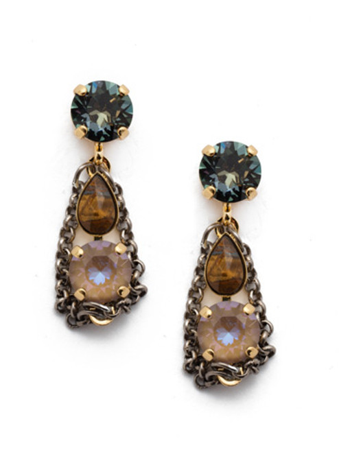 Sorrelli CASHMERE - Melrose Dangle Earrings ~ EET16MXCSM