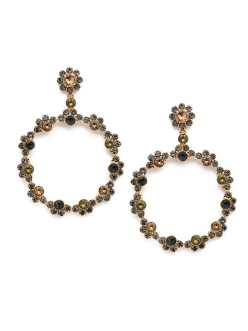 Sorrelli CASHMERE - Cirque Statement Earrings ~ EBP50BGCSM