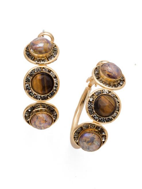 Sorrelli CASHMERE - Saylor Hoop Earrings ~ EET14BGCSM