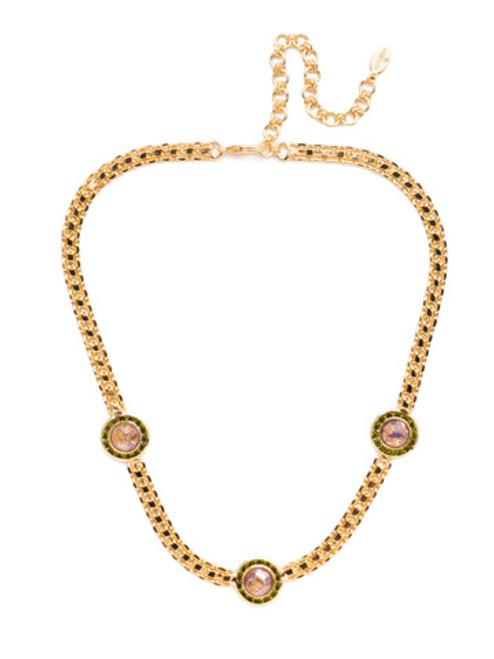 Sorrelli CASHMERE Alberta Crystal Tennis Necklace~ NET12BGCSM