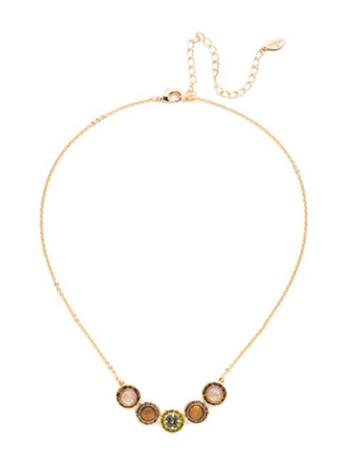 Sorrelli CASHMERE Saylor Crystal Pendant Necklace~ NET14BGCSM