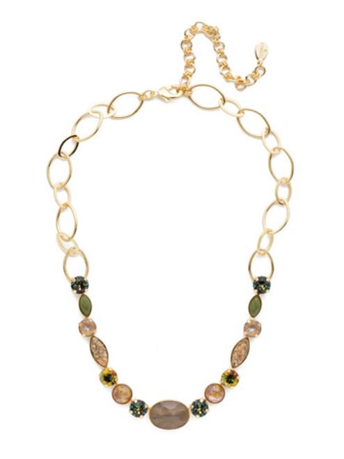 Sorrelli CASHMERE Astro Crystal Tennis Necklace~ NET4BGCSM