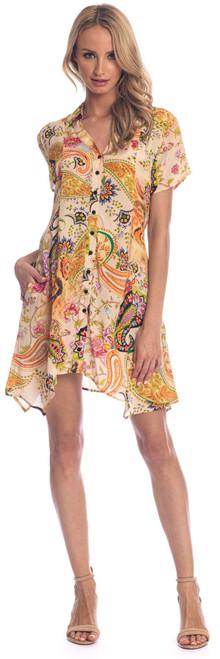"Tolani Silk ""Gina"" Dress~20073-front view"