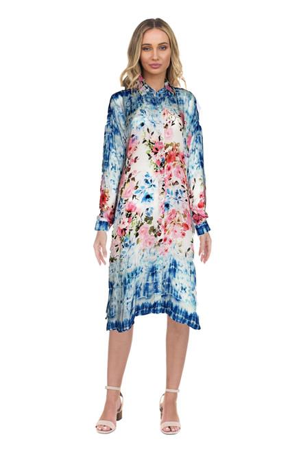 """Tolani """"Kenna"""" Dress~21106-Tye Dye"""