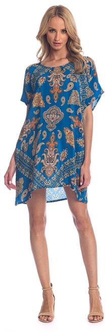 """Tolani Silk """"Tiffany"""" Dress~20020-Paisley"""