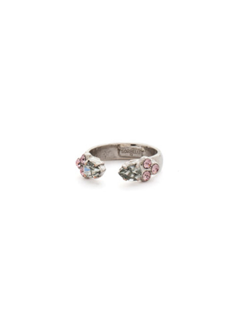 ARMY GIRL- Open-Ended Crystal Ring by Sorrelli~ RDN85ASAG