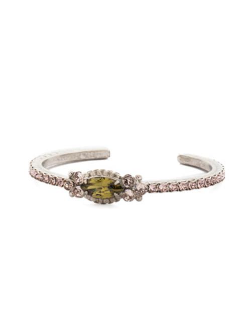 ARMY GIRL Crystal Cuff Bracelet by Sorrelli~ BDN2ASAG