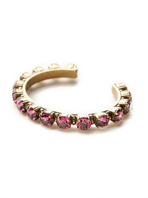 Sorrelli AMETHYST- Riveting Romance Cuff Bracelet~ BCL23AGAM