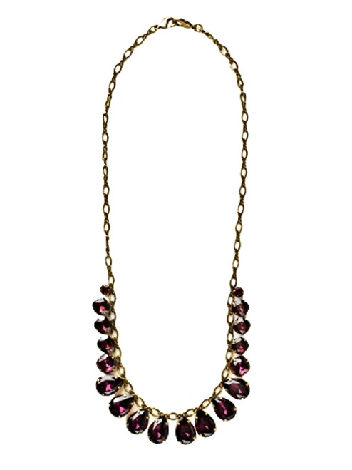 Sorrelli AMETHYST- Peared To Perfection Necklace ~ NCR118AGAM
