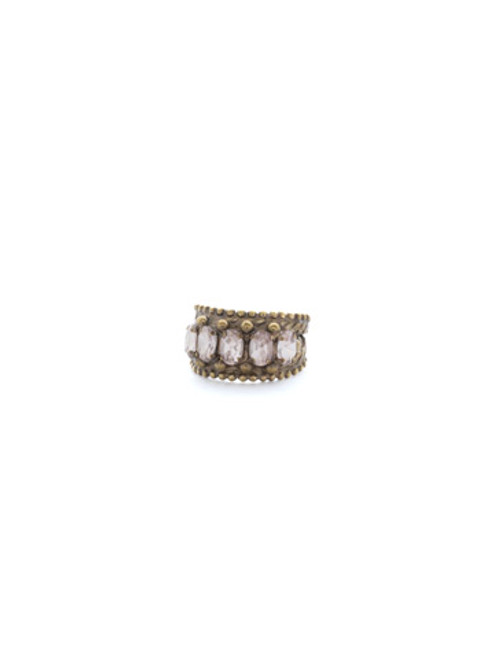 Sorrelli APRICOT AGATE - Crown Jewel Cocktail Ring~ RDH2AGAP