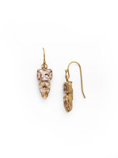 SORRELLI APRICOT AGATE- OOAK French Wire Earrings~ EDH71AGAP
