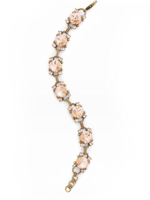 SORELLI APRICOT AGATE- Marigold Classic Line Bracelet~ BDK69AGAP