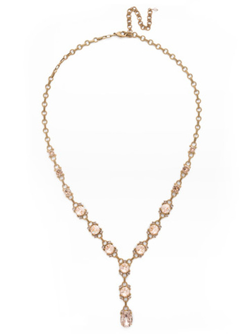 SORELLI APRICOT AGATE-Marigold Necklace~ NDK63AGAP