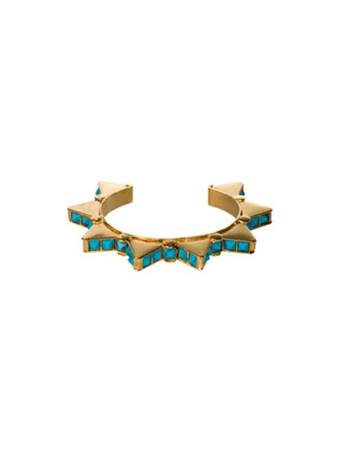 Sorrelli AZTEC- Spiked Turquoise Cuff Bracelet~ 4BH31BGAZT