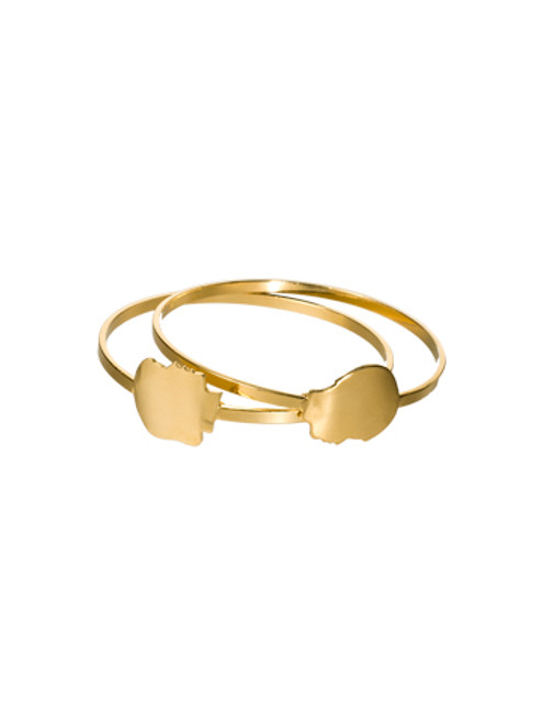 Sorrelli AZTEC- Boy Meets Girl Bangle Bracelets~ 4BH26BGAZT