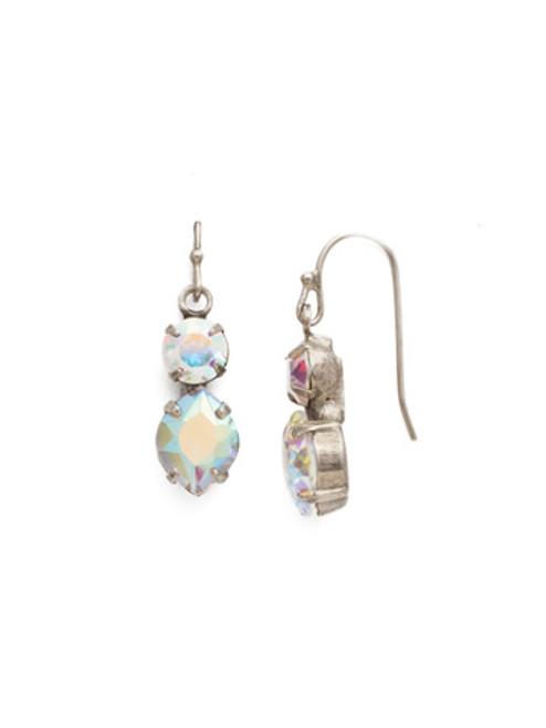 Sorrelli Crystal Aurora Borealis- Majestic Marquise Dangle Earrings~ EDH74ASCAB