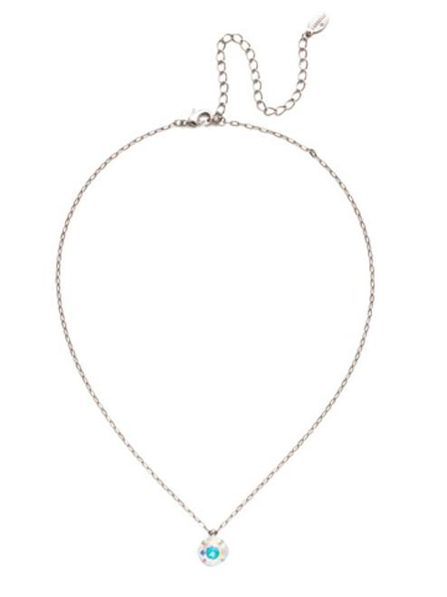 Sorrelli Crystal Aurora Borealis-Siren Pendant Necklace~ NEP22ASCAB