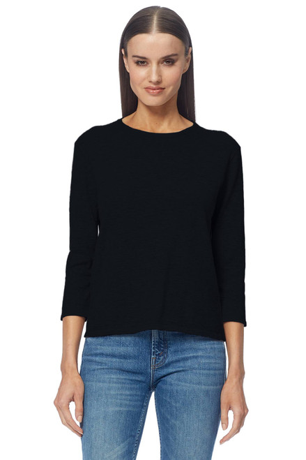 Maliah Cashmere Sweater by 360CASHMERE-45802-Black- Front View