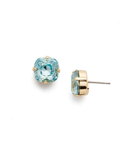 Sorrelli AQUAMARINE- Halcyon Stud Earrings~ EDH25BGAQU