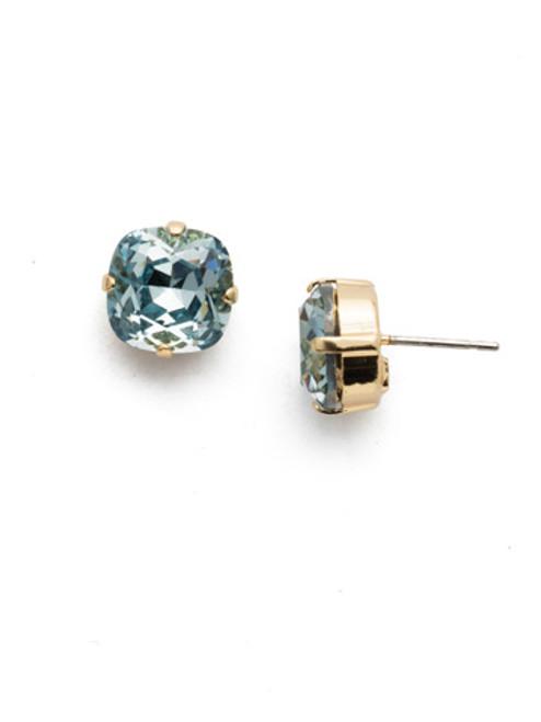 Sorrelli LIGHT AQUA- Halcyon Stud Earrings~ EDH25BGLAQ