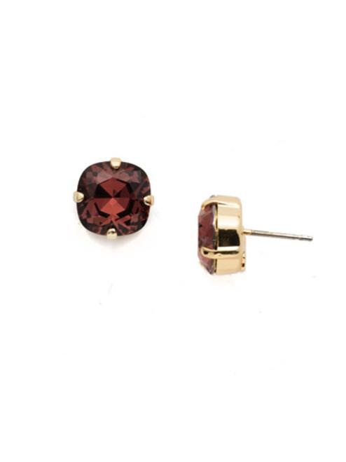Sorrelli BURGUNDY- Halcyon Stud Earrings~ EDH25BGBUR