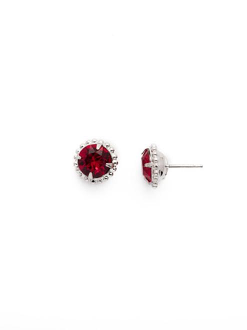 Sorrelli Essentials SIAM- Simplicity Crystal Stud Earrings~ EBY38RHSI