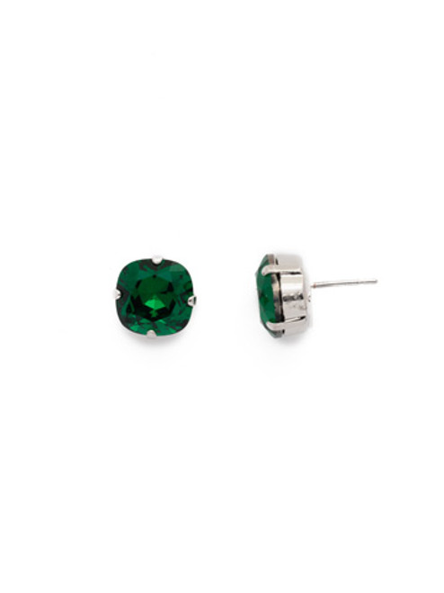 Sorrelli EMERALD- Halcyon Stud Earrings~ EDH25RHEME