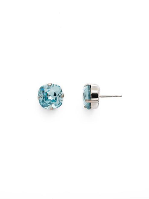 Sorrelli AQUAMARINE- Halcyon Stud Earrings~ EDH25RHAQU