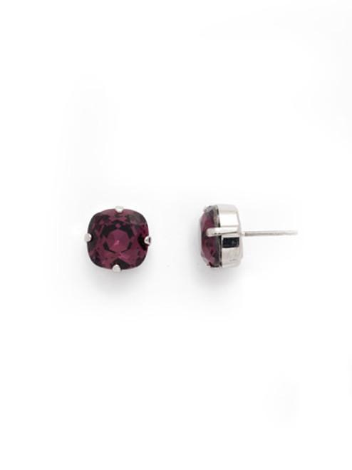 Sorrelli AMETHYST- Halcyon Stud Earrings~ EDH25RHAM