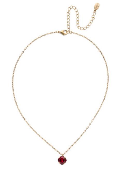 Sorrelli Essentials  SIAM- Siren Pendant Necklace~ NEP22AGSI