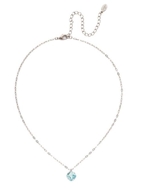 Sorrelli Essentials AQUAMARINE- Siren Pendant Necklace~ NEP22ASAQU