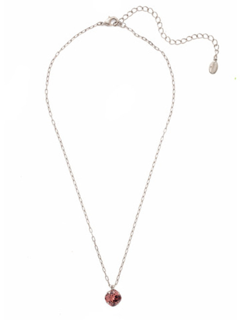 Sorrelli Essentials Burgundy- Siren Pendant Necklace~ NEP22ASBUR