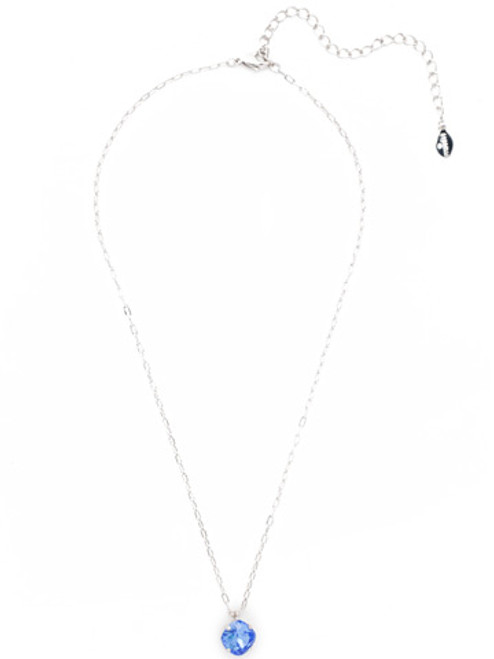 Sorrelli Essentials SAPPHIRE- Siren Pendant Necklace~ NEP22RHSAP