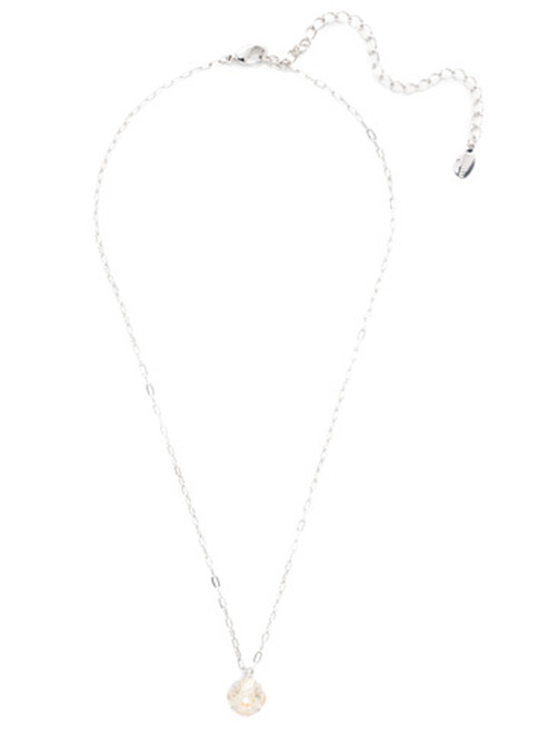 Sorrelli Essentials CRYSTAL CHAMPAGNE- Siren Pendant Necklace~ NEP22RHCCH