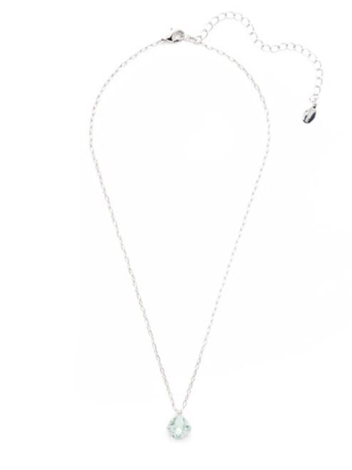 Sorrelli Essentials MINT- Siren Pendant Necklace~ NEP22RHMIN