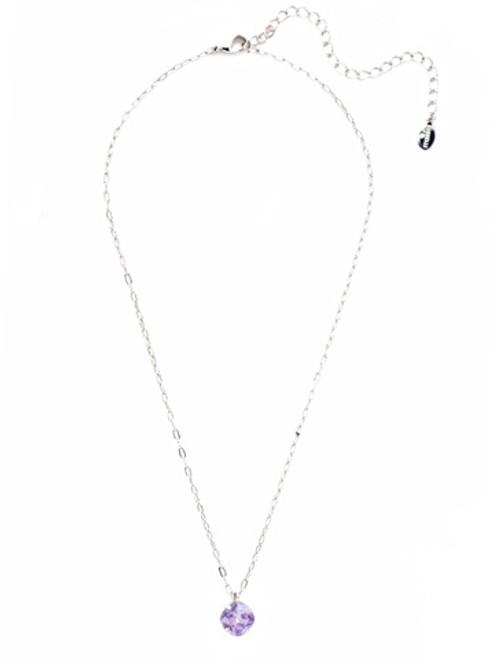 Sorrelli Essentials VIOLET- Siren Pendant Necklace~ NEP22RHVI