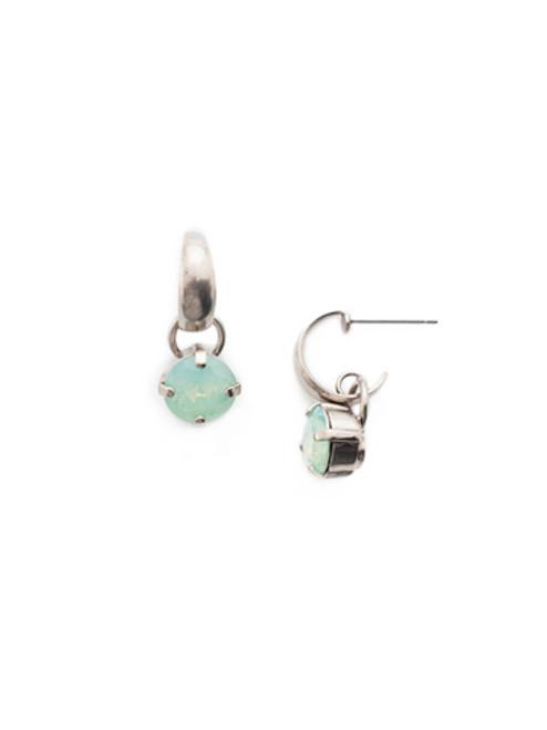 Sorrelli- NIGHT FROST- Tillie Hoop Earrings~ EEU151ASNFT