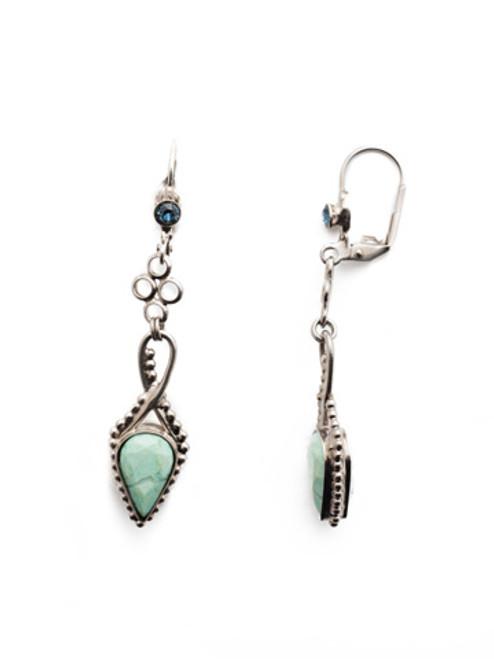 Sorrelli- NIGHT FROST- Chantal Dangle Earrings~ EEU3ASNFT