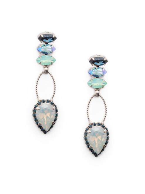 Sorrelli- NIGHT FROST- Shirley Dangle Earrings~ EEU101ASNFT