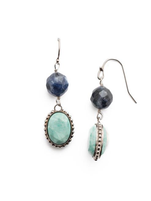 Sorrelli- NIGHT FROST- Blanche Dangle Earrings~ EEU2ASNFT
