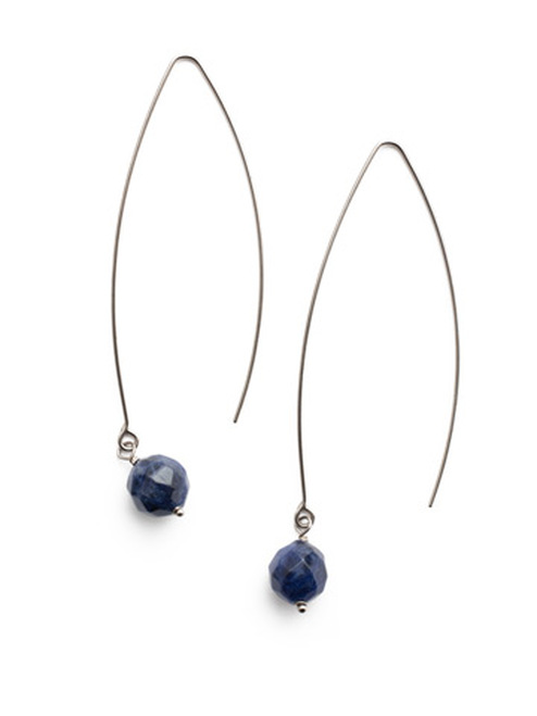 Sorrelli- NIGHT FROST- Shiloh Dangle Earrings~ EEU20ASNFT
