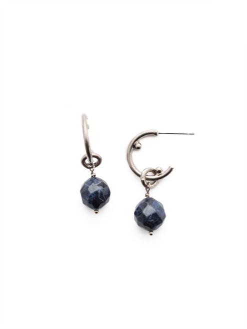 Sorrelli- NIGHT FROST- Ashlyn Hoop Earrings~ EEU81ASNFT