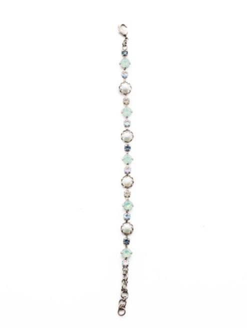 Sorrelli NIGHT FROST- Emmanuella Tennis Bracelet~ BES12ASNFT