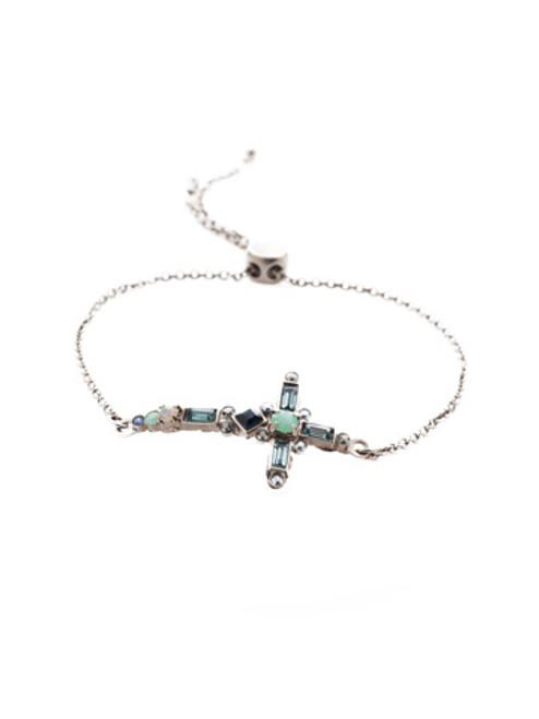 Sorrelli NIGHT FROST- Venezia Slider Bracelet~ BEC23ASNFT