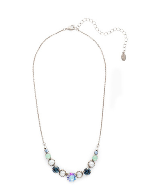 Sorrelli NIGHT FROST- Dallas Tennis Necklace~ NEU14ASNFT